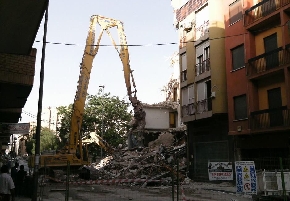 Afectada por los seismos de Lorca recibe indemnización superior tras acudir a la Audiencia Provincial
