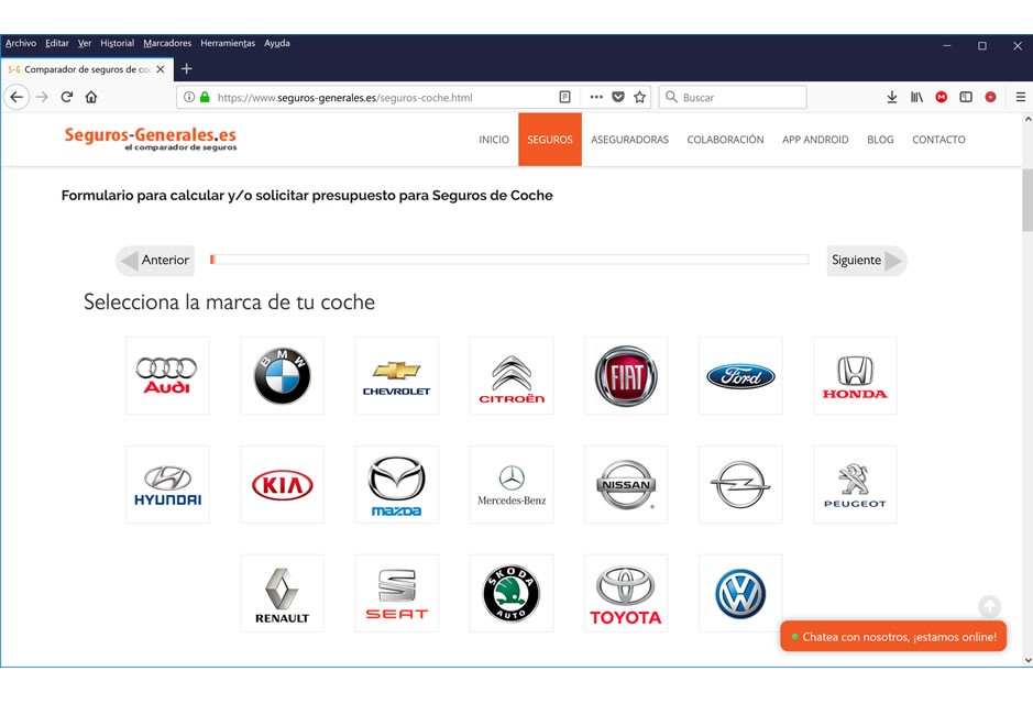 Cómo elegir un buen seguro de coches