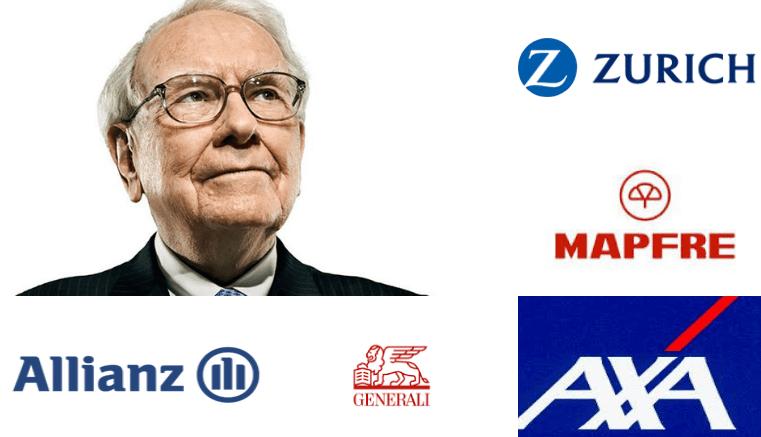 Allianz, Axa, Generali, Mapfre y Zúrich los clientes destacados de Warren Buffett